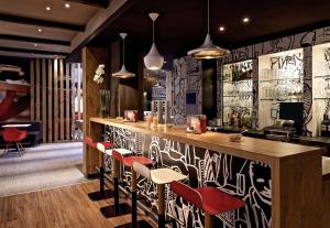 Lounge oder Bar in der Unterkunft ibis Bremen City