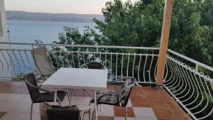 A balcony or terrace at Apartments Coko