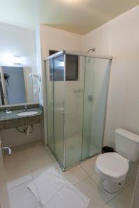 A bathroom at Hotel Fiorio