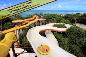 Parque aquático no resort ou nos arredores
