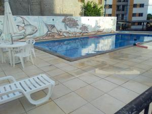 The swimming pool at or near Condominio Port. da cidade Aracaju