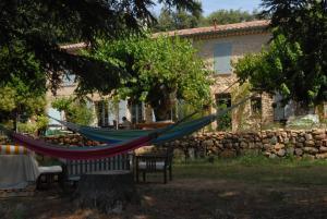 A garden outside Les Vignes de Terrisse