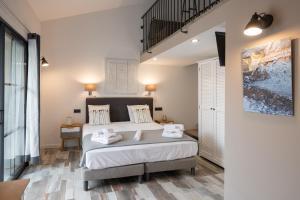 Un ou plusieurs lits dans un hébergement de l'établissement Casa di a Restonica