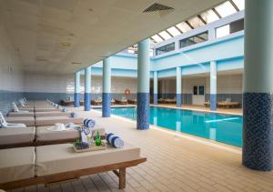 The swimming pool at or near Constantinos the Great Beach Hotel