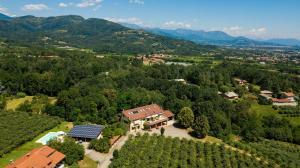 Vista aerea di Agriturismo Turina