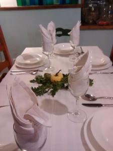 Un restaurante o sitio para comer en Hotel Rural Natxiondo
