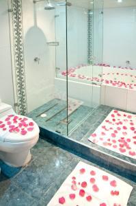 A bathroom at Hotel Centro Internacional