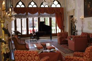 Area soggiorno di Hotel La Residenza