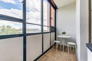 Балкон или терраса в Апартаменты на Дунайском