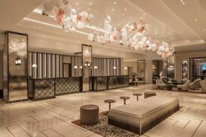 The lobby or reception area at JW Marriott Grosvenor House London