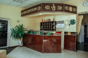 The lobby or reception area at JJ Hotel