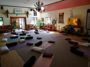 The fitness center and/or fitness facilities at Creacon Wellness Retreat