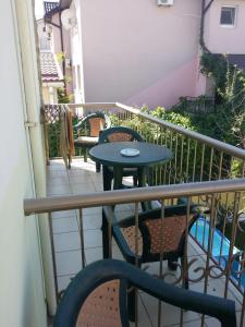Балкон или терраса в Guest house Visit
