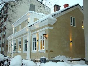 Vandrarhem Uppsala Kungsängstorg under vintern