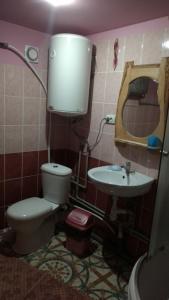 Ванная комната в Na gorbochku u Natali
