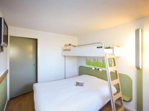 A bunk bed or bunk beds in a room at ibis budget Marseille Vieux Port