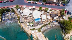 A bird's-eye view of Elmi Beach Hotel & Suites