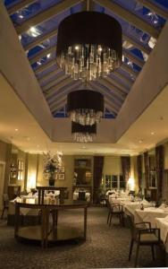 A restaurant or other place to eat at Balbirnie House Hotel