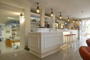 Vstupní hala nebo recepce v ubytování Hotel Salus