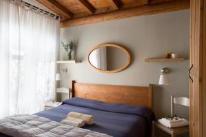 Een bed of bedden in een kamer bij Campeggio Ideal Molino