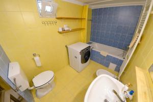 A bathroom at Casa Adela