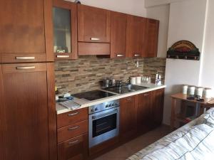 Кухня или мини-кухня в Santafemia