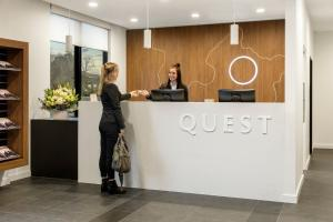 The lobby or reception area at Quest Maribyrnong