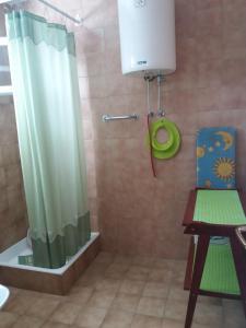 A bathroom at Apartments Tanja