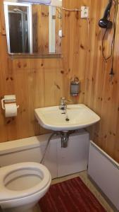 Ett badrum på Putikon Hovi