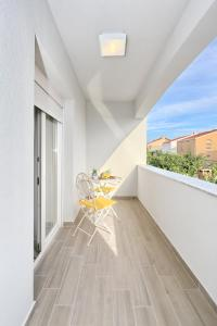 A balcony or terrace at Apartments Tija Exclusive