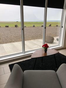 Zona de estar de Kirkjufell Guesthouse and Apartments