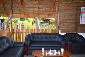 A seating area at Sasvi Cabana