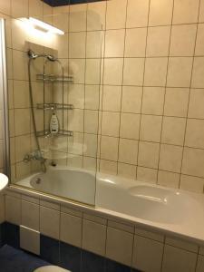 חדר רחצה ב-Nordului Herastrau Luxury Apartment