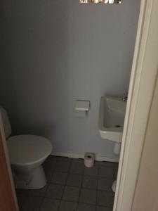 Ett badrum på Pensionat Björnen