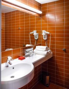 Ванная комната в Dorpat Conference Hotel