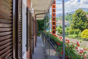Balcone o terrazza di Ristorante Buasca