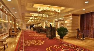 The lobby or reception area at Shenyang Royal Wanxin Hotel