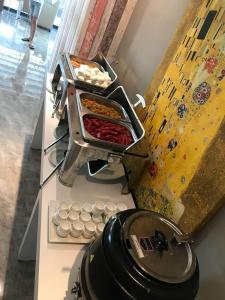 A kitchen or kitchenette at Q SPA Resort