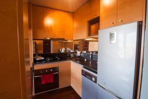 Una cocina o zona de cocina en Austral Suites
