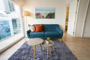 A seating area at Lima Walking Apartments - Central Miraflores