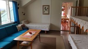 Et sittehjørne på Solheim Pensjonat