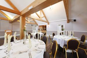 A restaurant or other place to eat at Hadley Park House Hotel