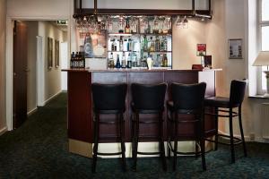 Лаундж или бар в Milling Hotel Ansgar