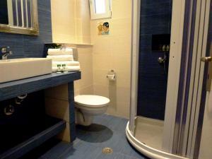 A bathroom at Atalos Suites
