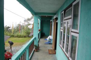 A balcony or terrace at Vamoosetrail Borong Polok Village