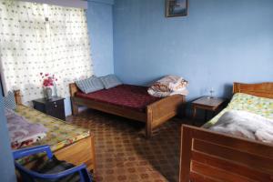 A seating area at Vamoosetrail Borong Polok Village