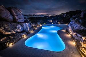 A piscina localizada em Grand Hotel Ma&Ma Resort ou nos arredores