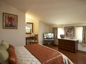 A television and/or entertainment center at Palazzo Vecchio Exclusive Residence