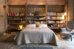 Biblioteca en el bed & breakfast