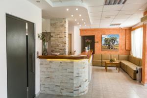 Ο χώρος του λόμπι ή της ρεσεψιόν στο Hotel Venetia